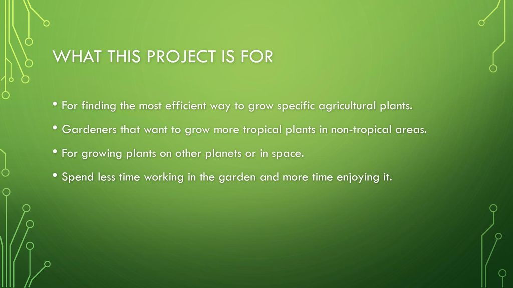 Raspberry pi controlled greenhouse - ppt download