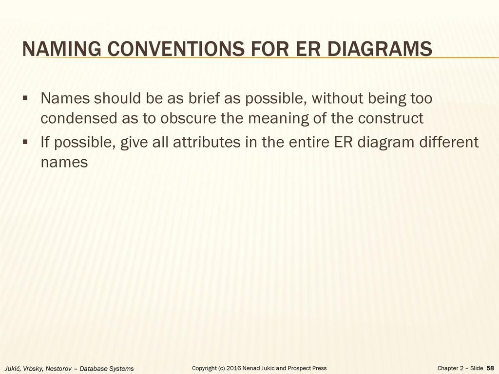 Chapter 2 database requirements and er modeling ppt download naming conventions for er diagrams ccuart Images