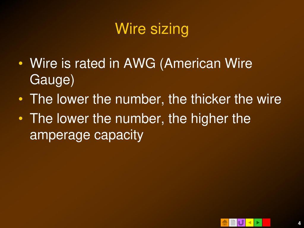 How to size electrical circuits ppt download 4 wire keyboard keysfo Choice Image