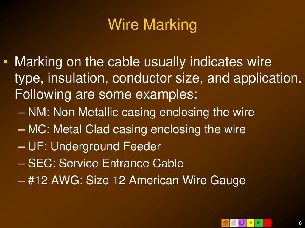 Contemporary 5 Conductor 12 Gauge Wire Mc Pattern - Electrical ...