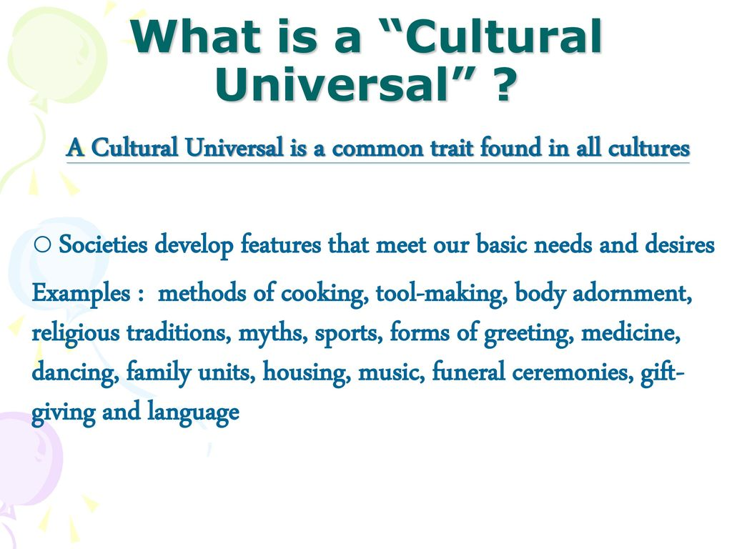 Chapter 2 The Meaning Of Culture Cultural Variation Ppt Download