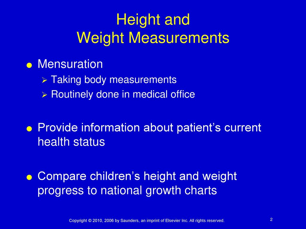 Body Measurements And Vital Signs Ppt Download