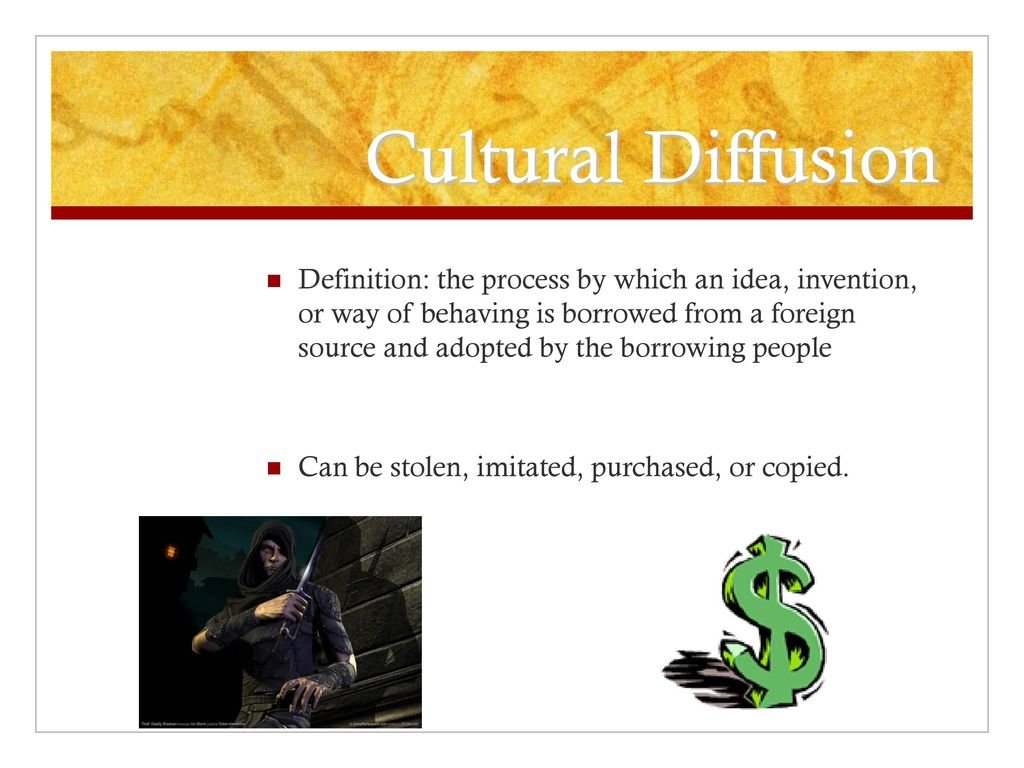 cultural diffusion. - ppt download