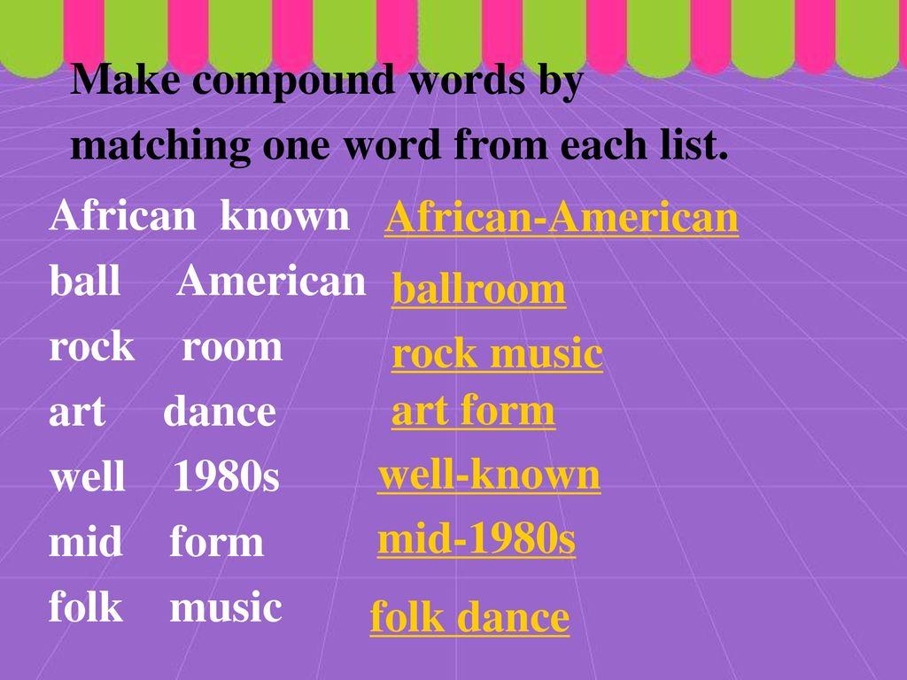 Lesson 4 Let's dance  - ppt download