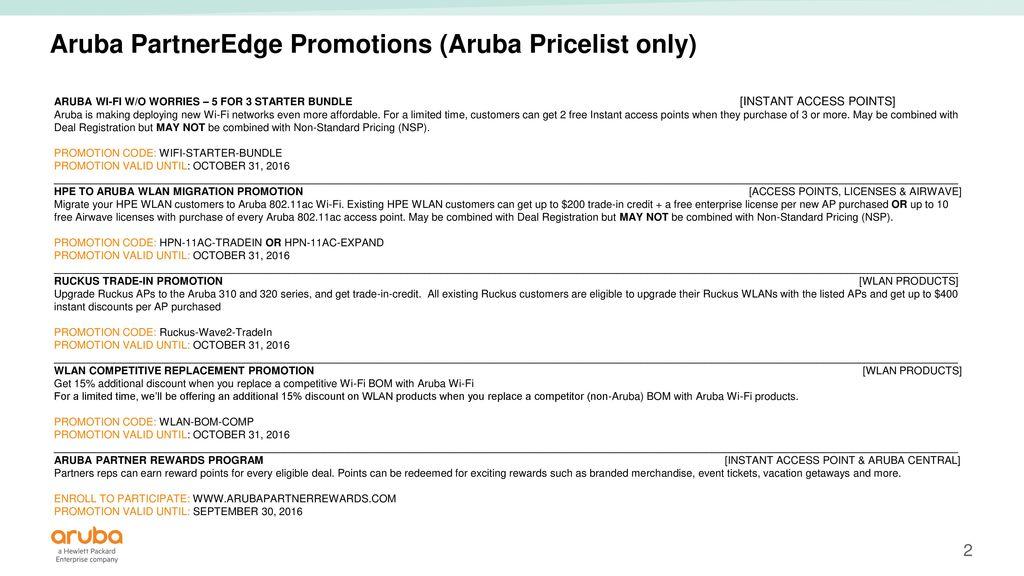 Aruba Ap Registration
