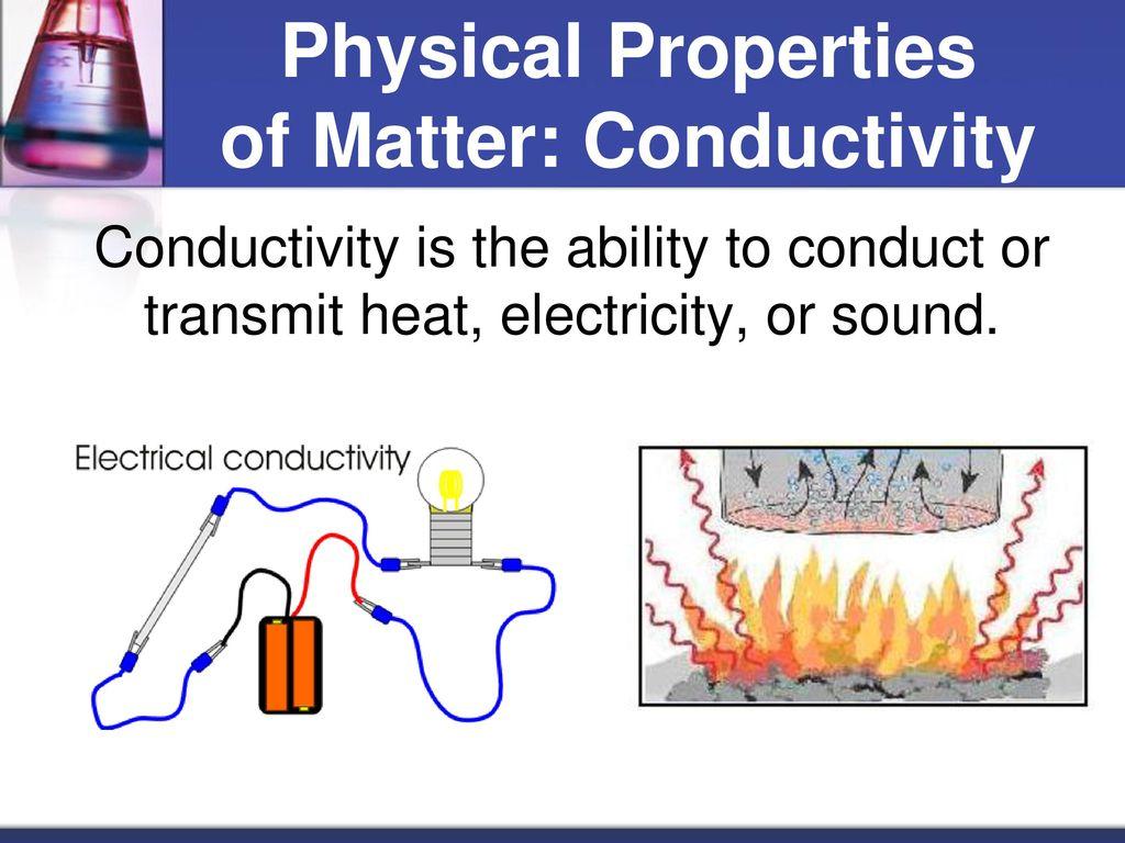 Physical Properties of Matter: Conductivity