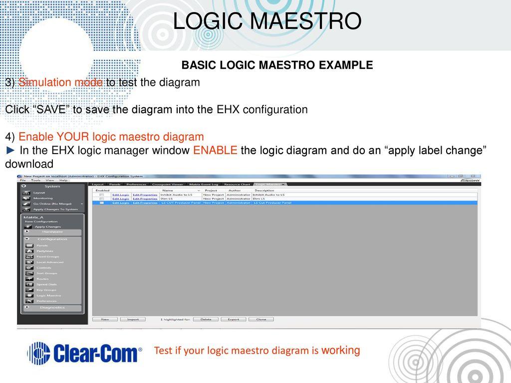 Eclipse Ehx System Logic Maestro Ppt Download Diagram Application 22