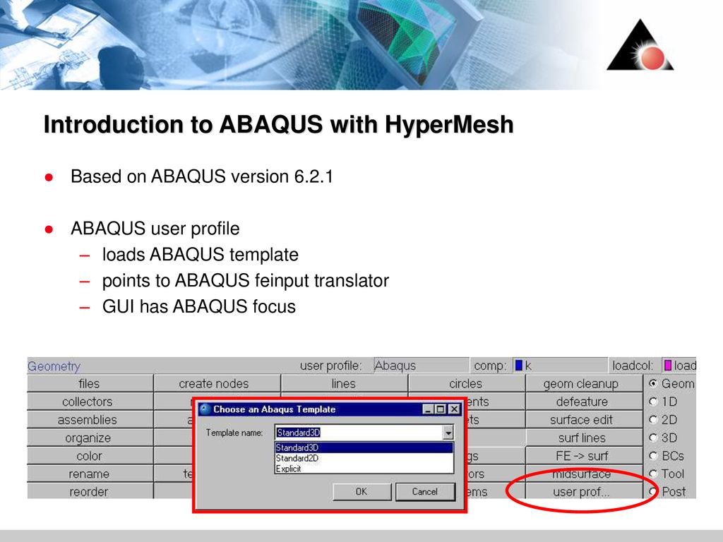 ABAQUS with HyperWorks ppt download