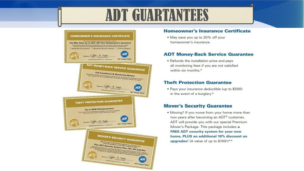 Adt Home security  - ppt download