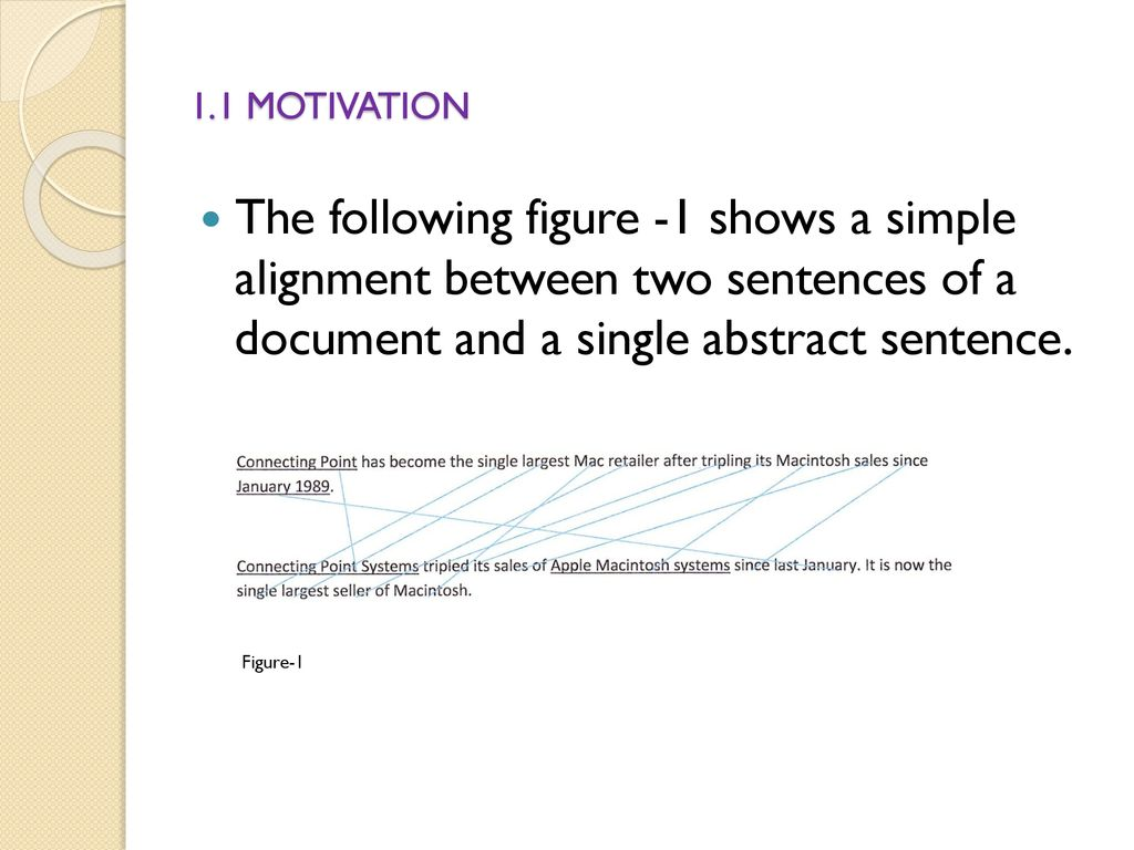 what is an abstract sentence