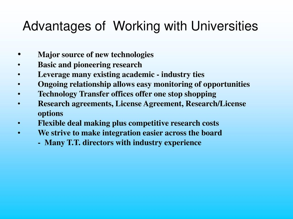 Columbia University Technology Transfer An Overview Dr Ppt Download
