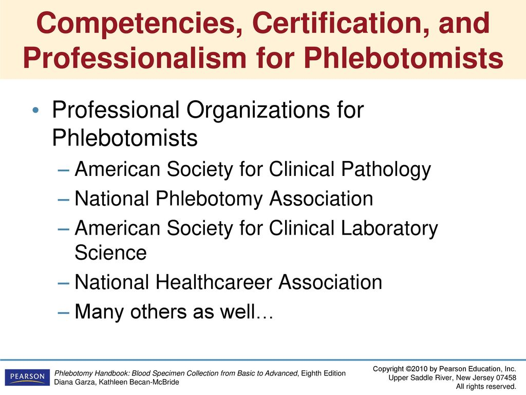Phlebotomy Practice And Quality Assessment Ppt Download