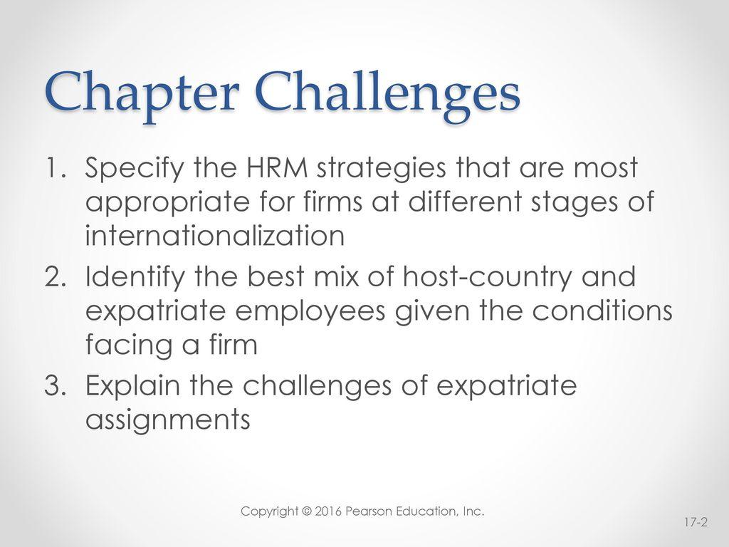 internationalization of hrm