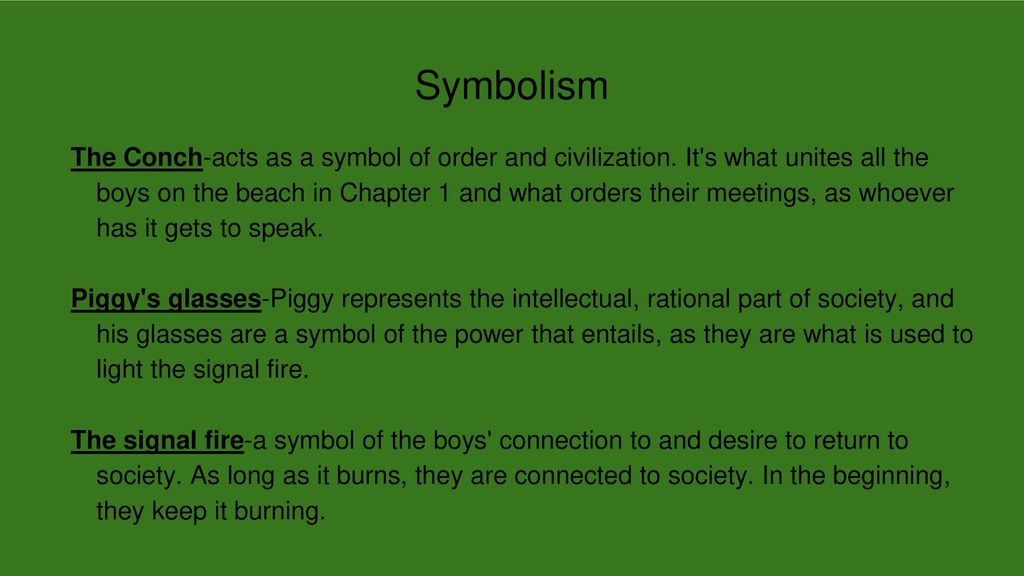 Lord Of The Flies Chapters 12 Ppt Download