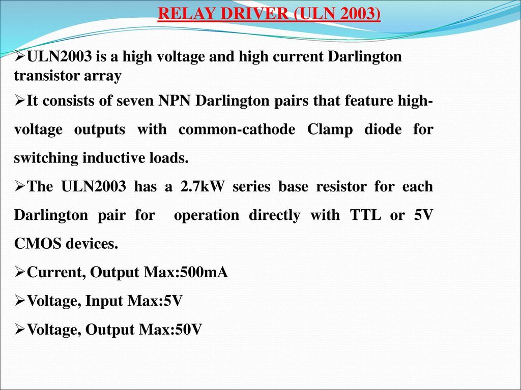 Multiple On And Off Time Programmed Industrial Load Ppt Download Relay Current Driver 12