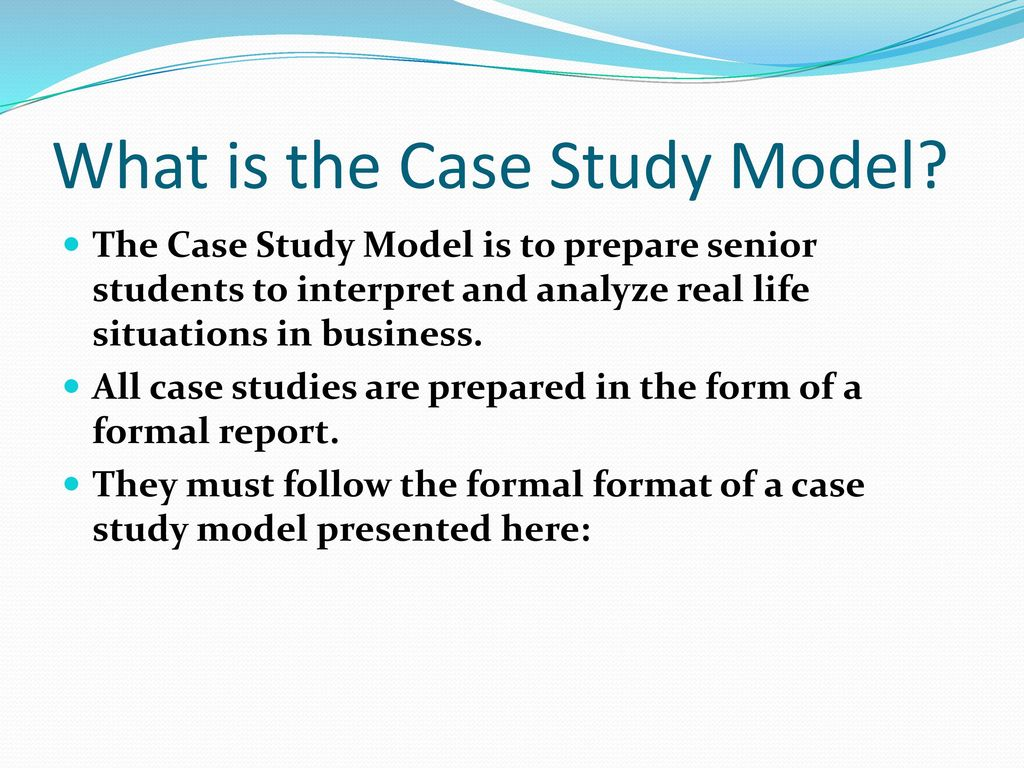 The Best Case Study Analysis for College Students