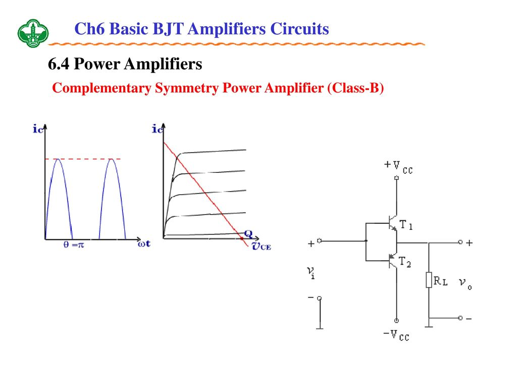Ch6 Basic Bjt Amplifiers Circuits Ppt Download High End Power Amplifier Circuit