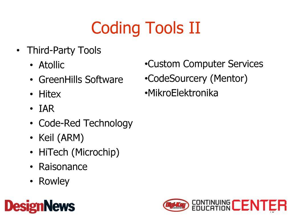 Microcontrollers, Basics Successful Software Development for MCUs