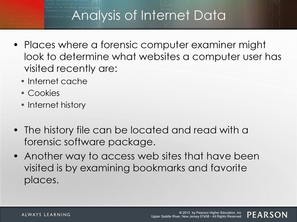 Chapter 18: Computer Forensics ppt download