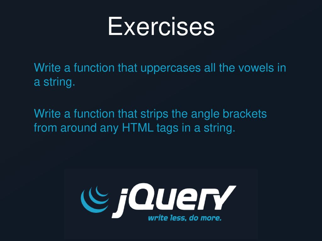 pres learningjquery com/femasters/ - ppt download