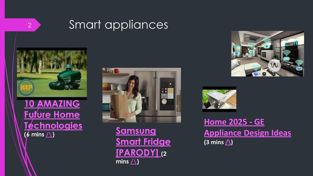 5 the internet of things smart appliances driverless cars big data