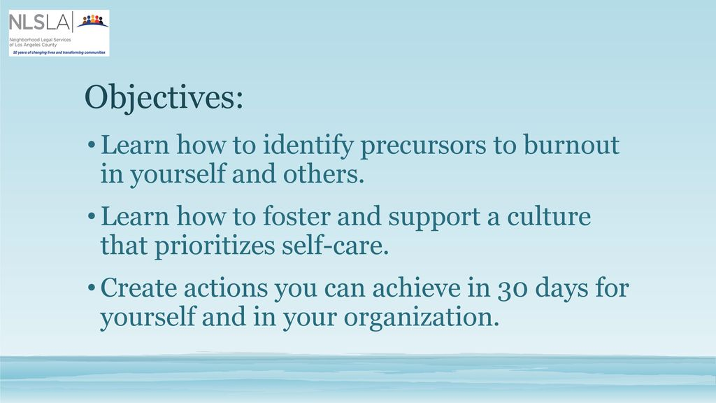Self-Care: Avoiding Burnout at Work - ppt download