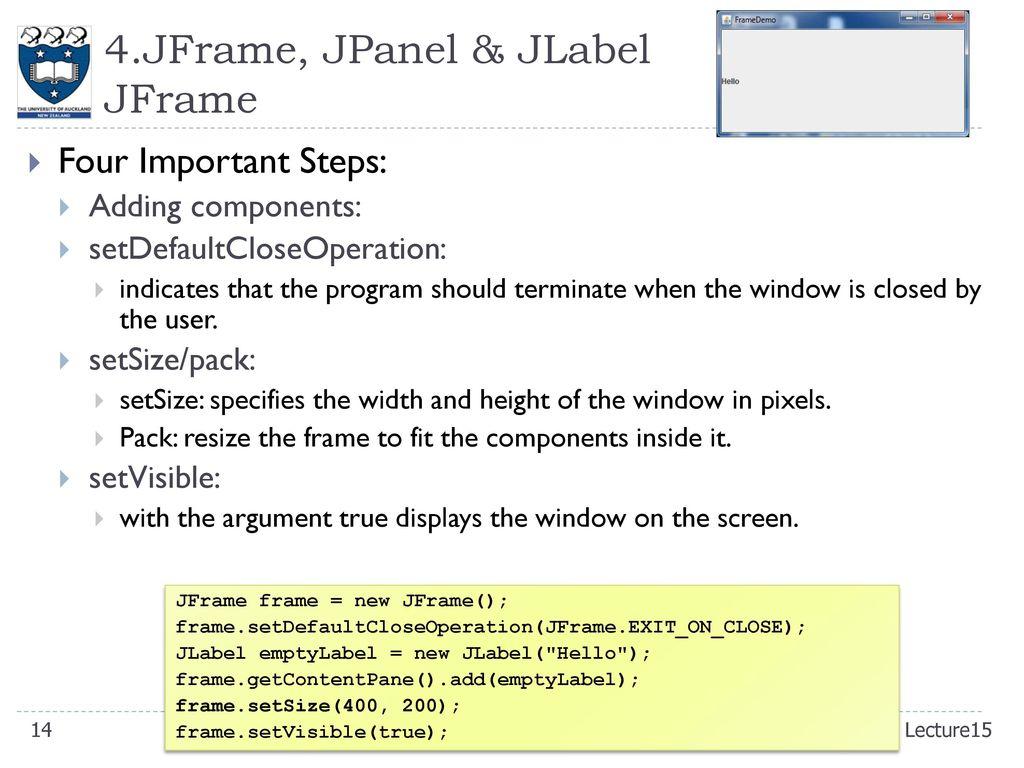 CompSci 230 S Programming Techniques - ppt download