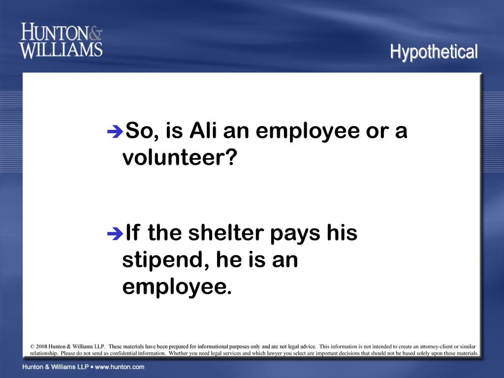If It Quacks Like a Duck, Is It an Employee? - ppt download
