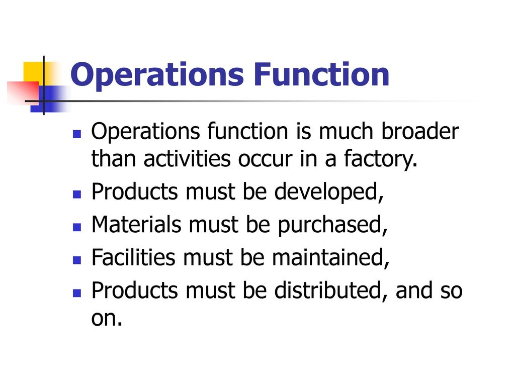 definition of operations management - ppt download