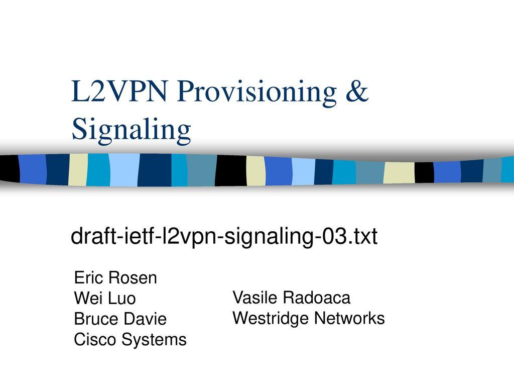 L2vpn Cisco
