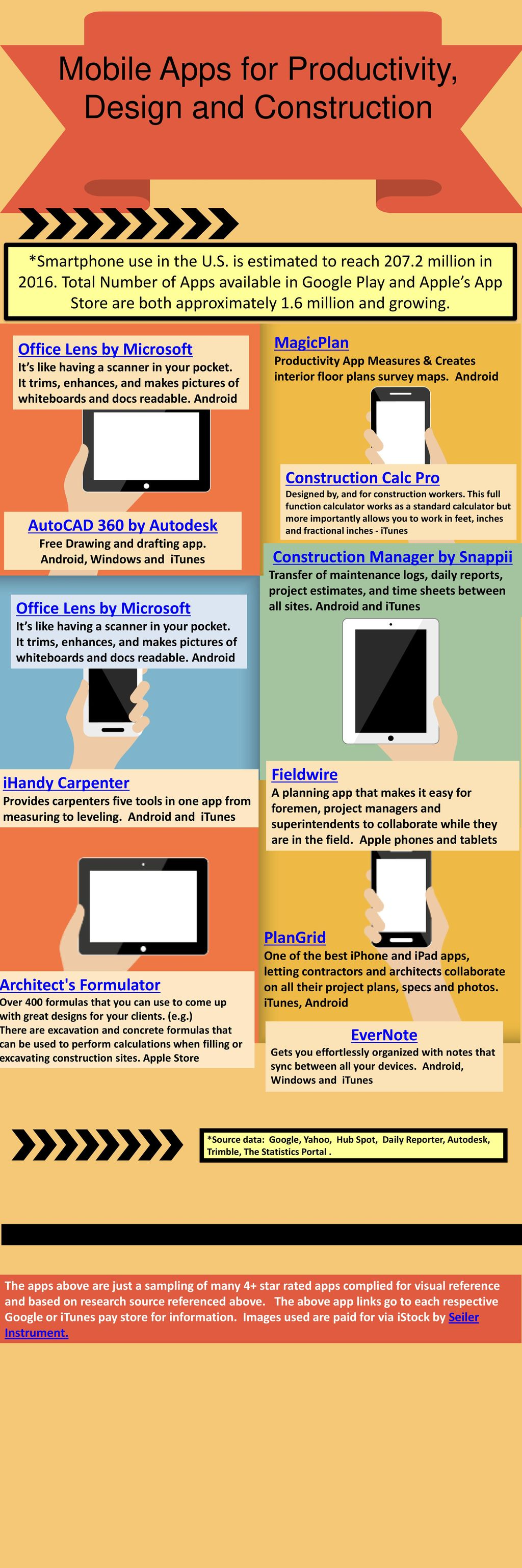 50% Mobile Apps for Productivity, Design and Construction - ppt download