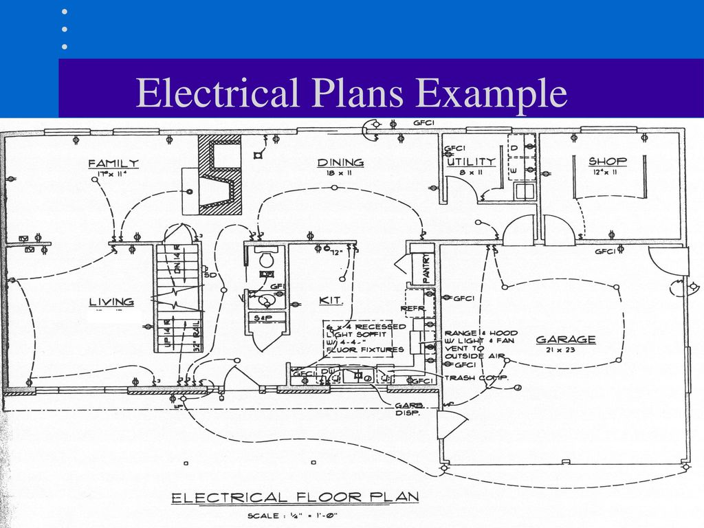 Electrical Plans Ppt Download Drawing An Plan 4 Example