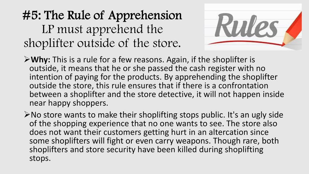 Catch That Shoplifter  - ppt download