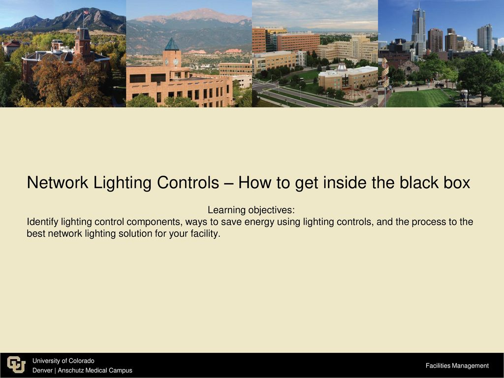 Network Lighting Controls – How to get inside the black box - ppt ...