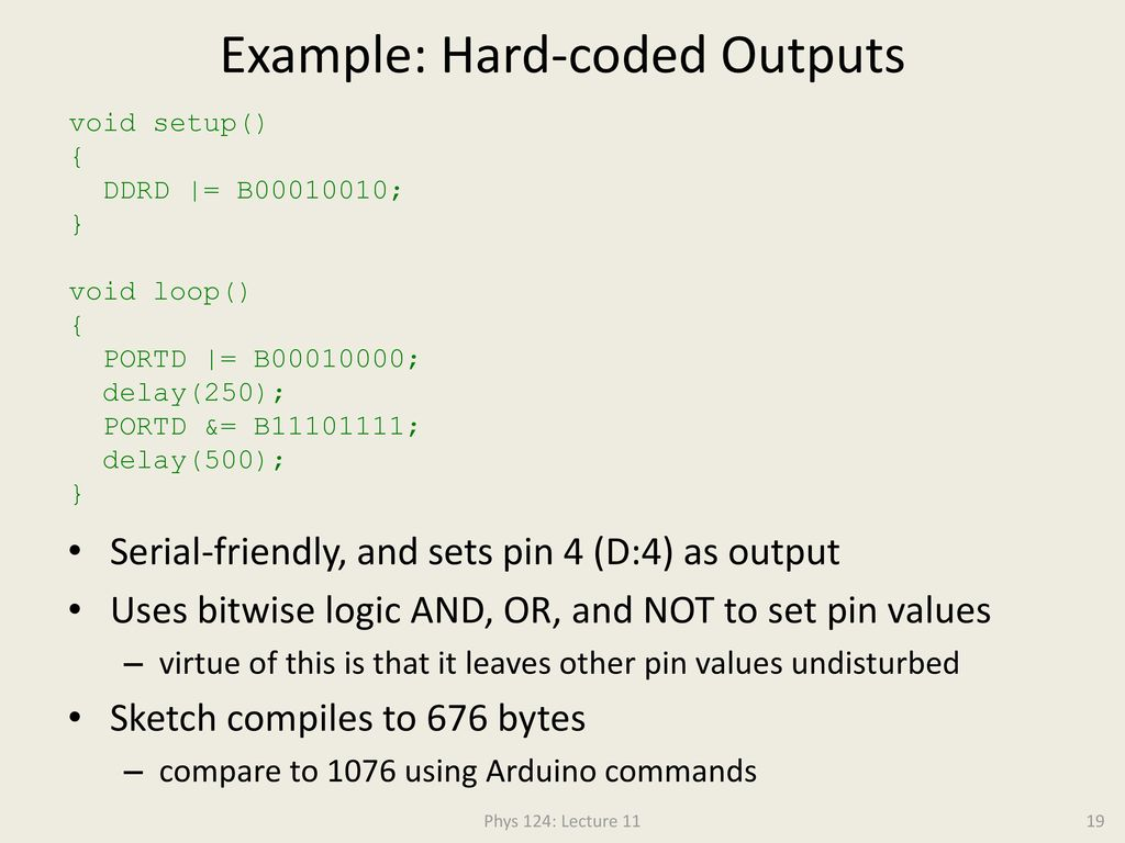 Assembly Language and Arduino - ppt download