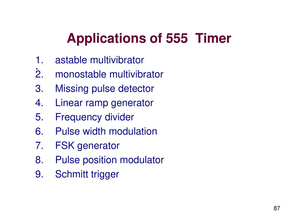555 Timer Ramp Generator Linear Integrated Circuits And Applications Ppt Download Of Astable Multivibrator