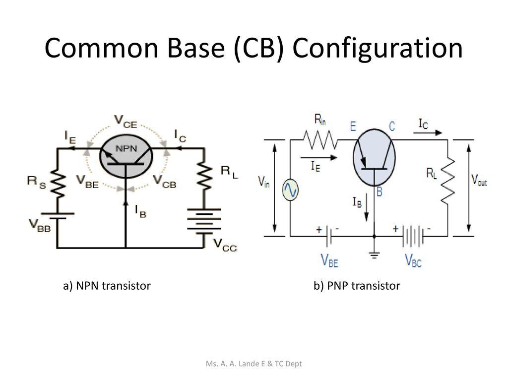 Transistor Circuits Ms A Lande E Tc Dept Ppt Download Commonbasenpntransistorcircuitjpg 6 Common