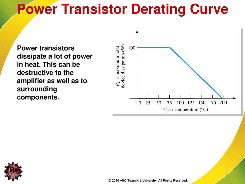 Power Amplifiers El Ixrl Ppt Download 50 W Transistor Amplifier Derating Curve