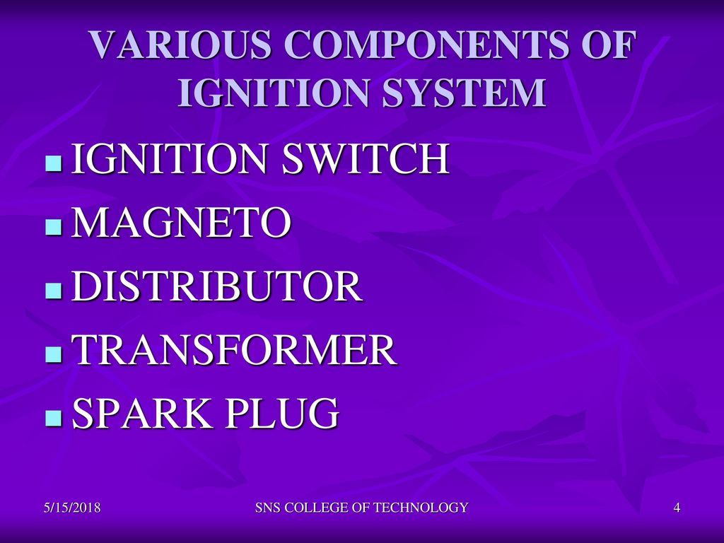 Aircraft Ignition system - ppt download