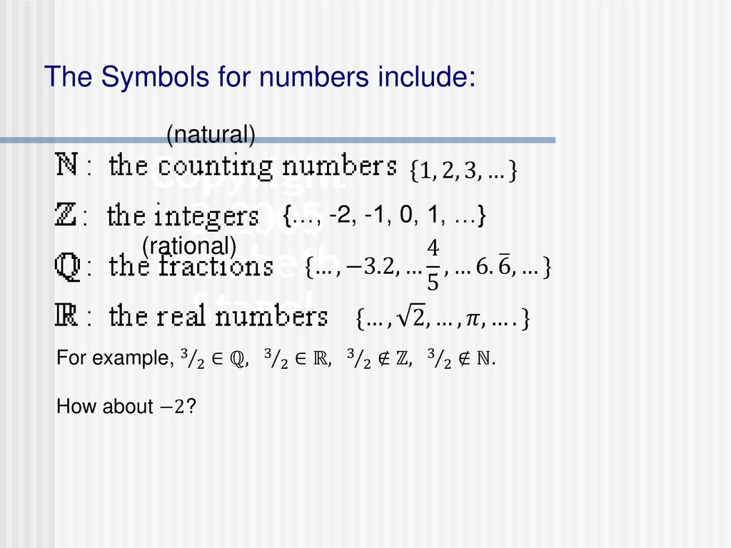 G22 Sets Set Notation Any Collection Of Objects Is A Set Ppt