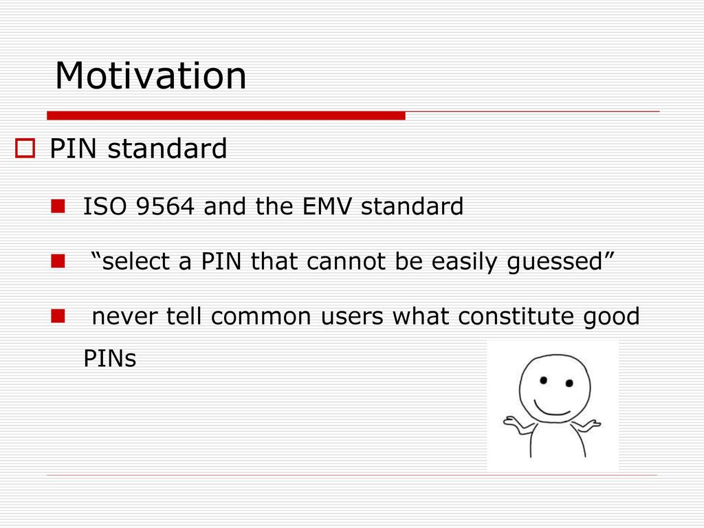 Understanding Human-Chosen PINs: - ppt download