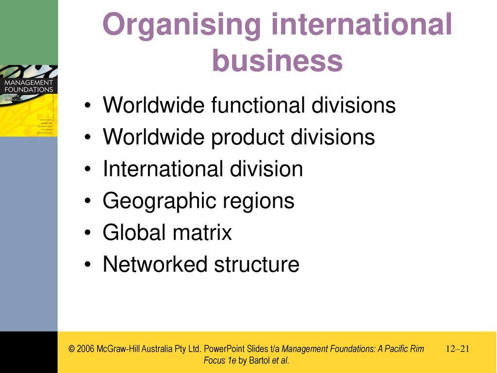 chapter 12 international management ppt download