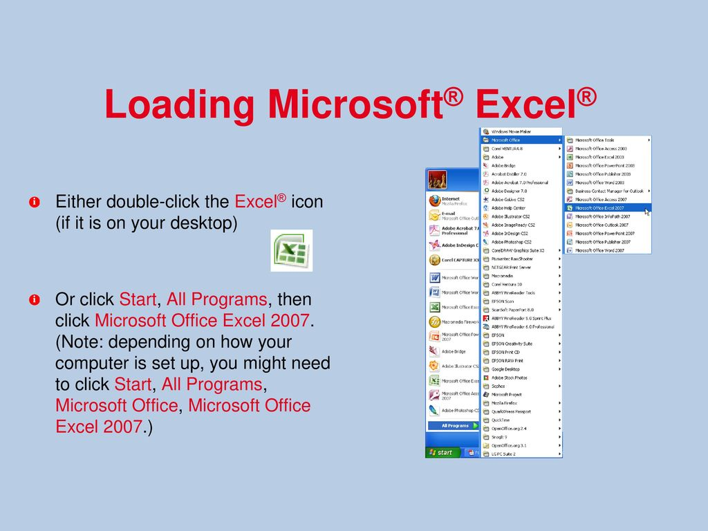 Microsoft Excel 2003 Free Download