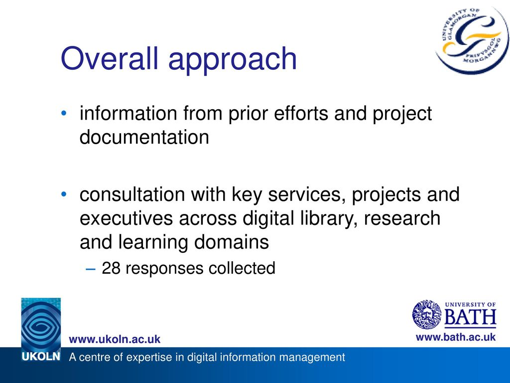 Overall approach information from prior efforts and project documentation.