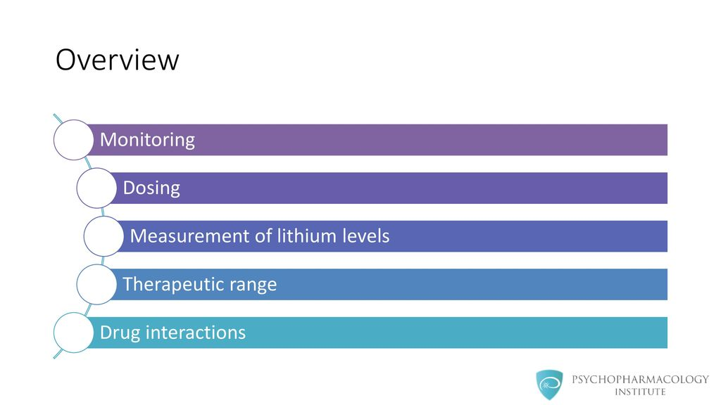 Lithium Practical Prescribing - ppt download