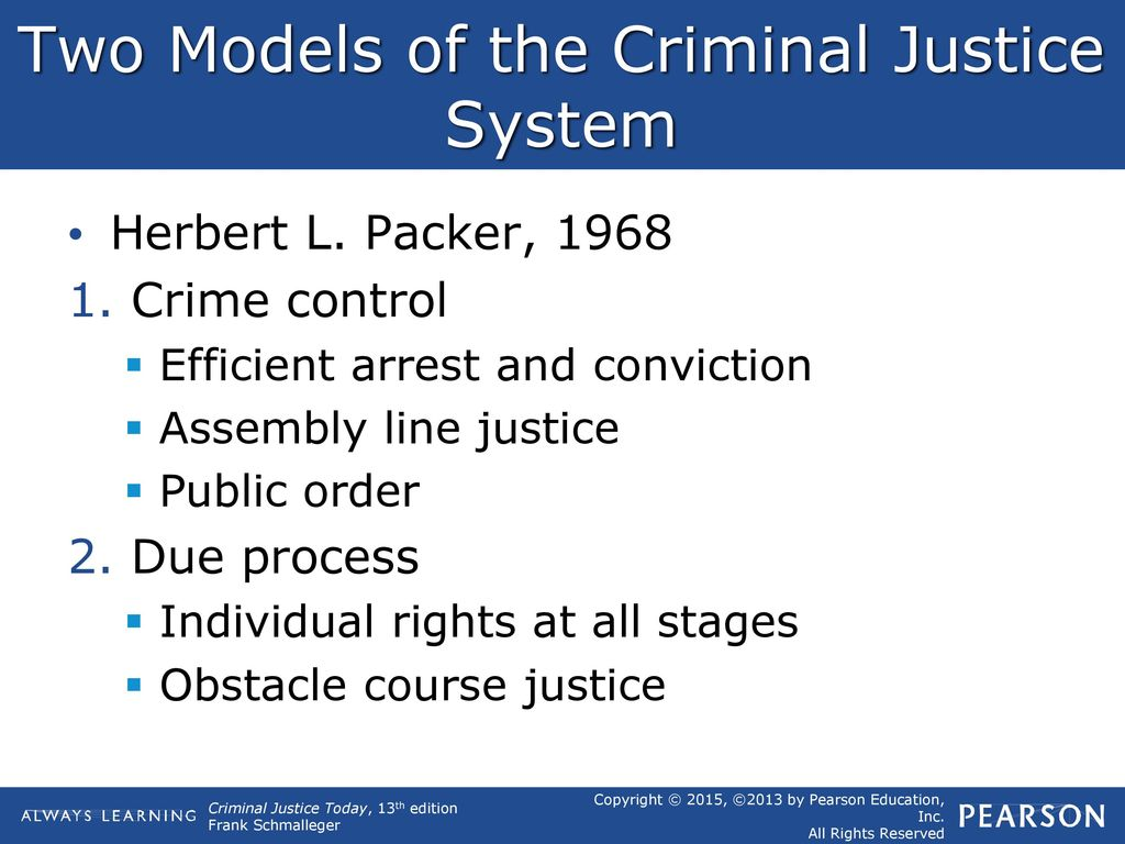 two models of the criminal process
