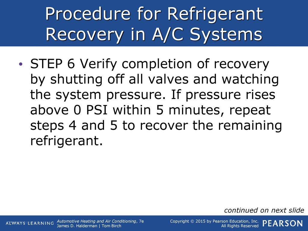 14 Refrigerant Recovery, Recycling, and Recharging  - ppt
