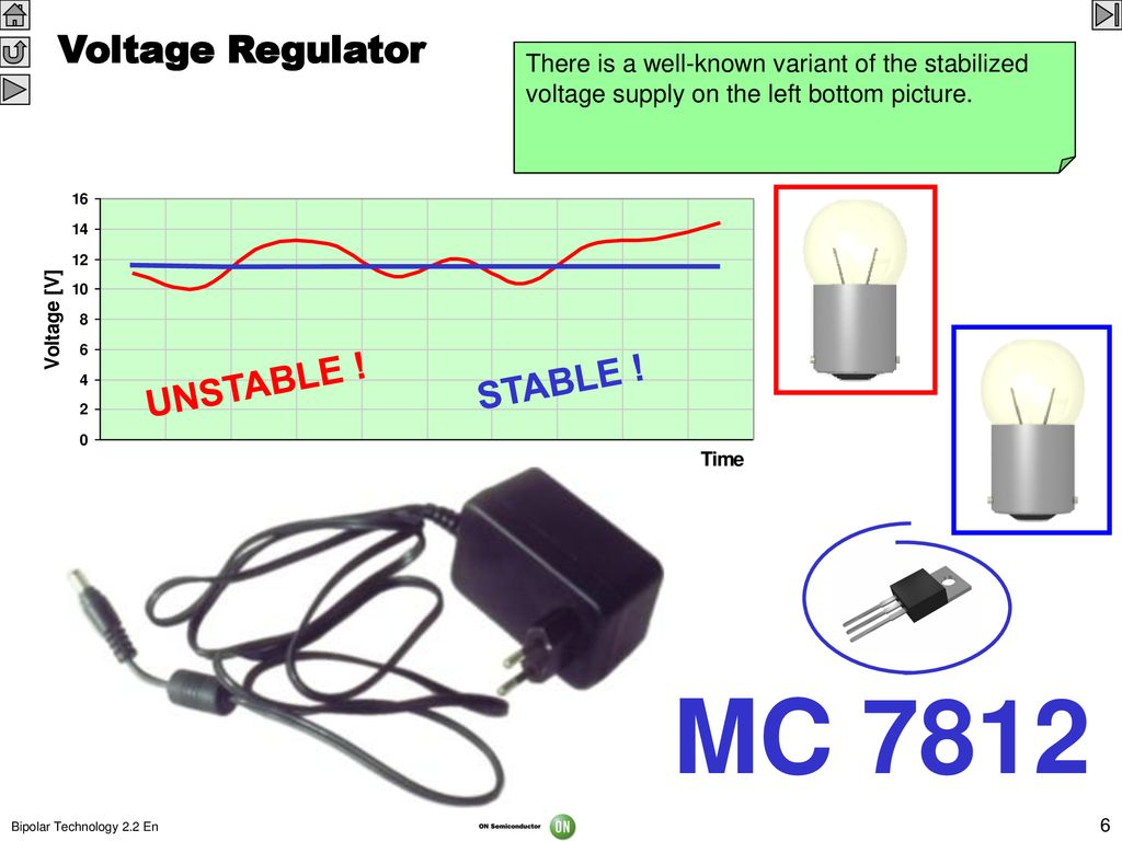 The Bipolar Integrated Circuits Principles And Manufacturing Ppt 7812 Voltage Regulator Circuit Mc Unstable Stable