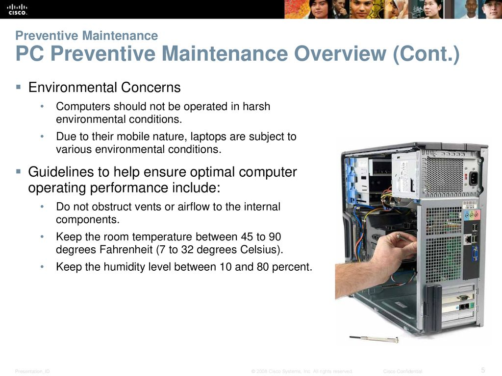 Chapter 4: Overview of Preventive Maintenance - ppt download