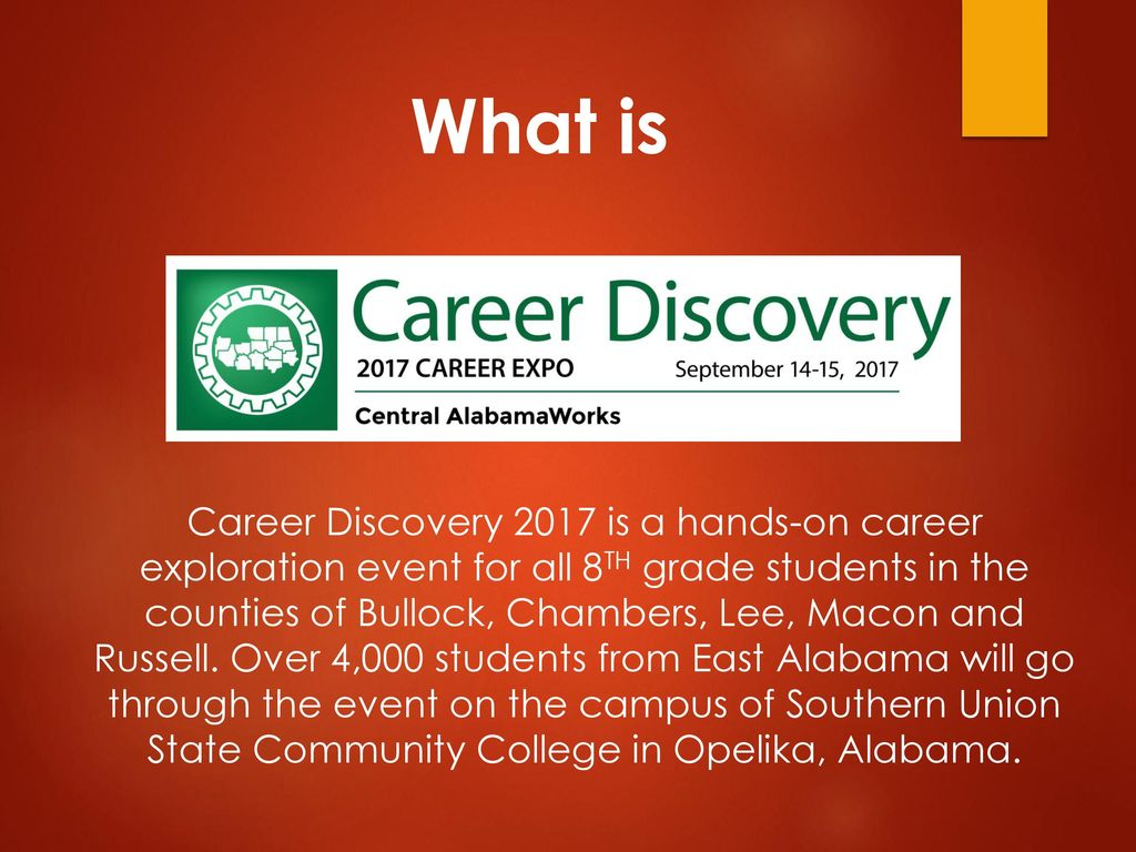 Career Discovery 2017 Event Overview - ppt download